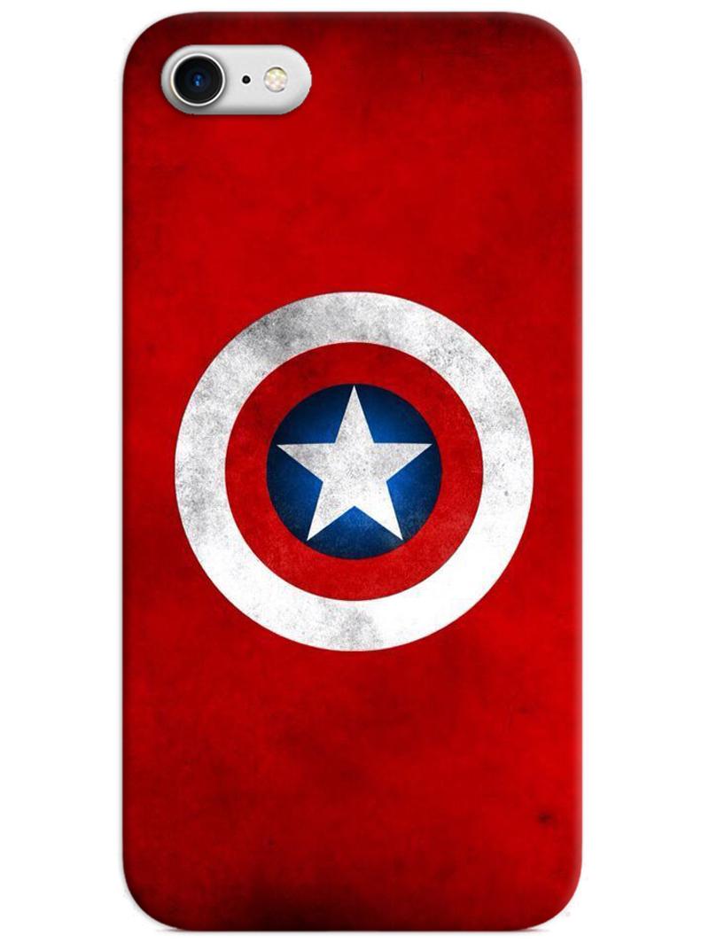 Captain America Logo iPhone 8 Case