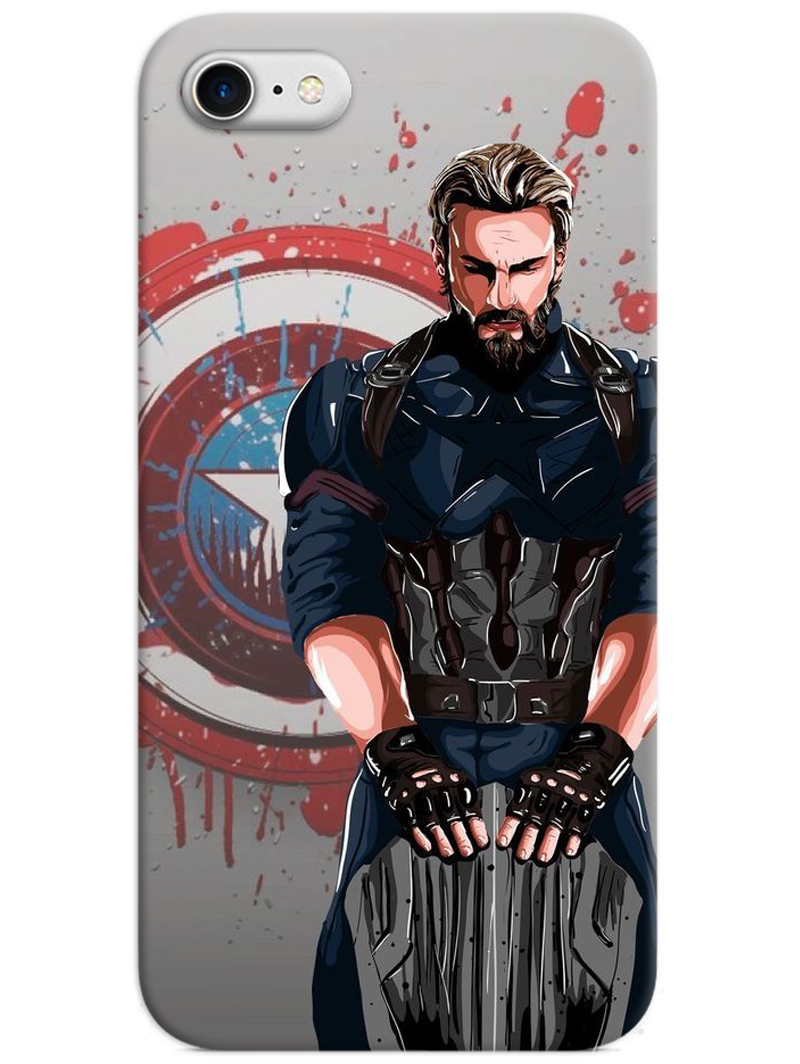 Captain America The First Avenger iPhone 8 Case