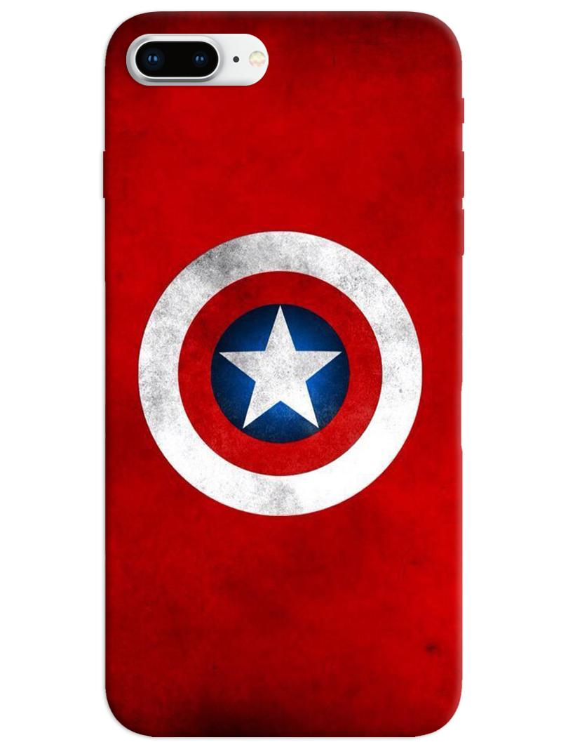 Captain America Logo iPhone 8 Plus Case