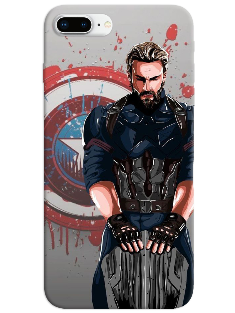 Captain America The First Avenger iPhone 8 Plus Case