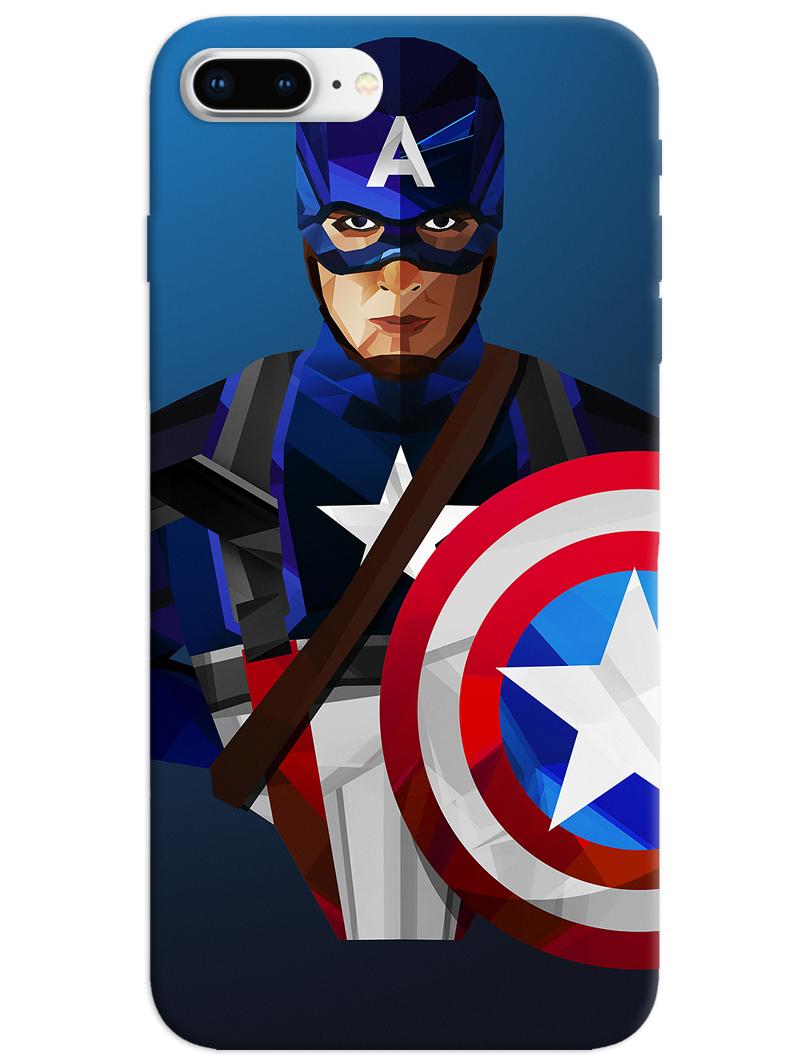Captain America iPhone 8 Plus Case