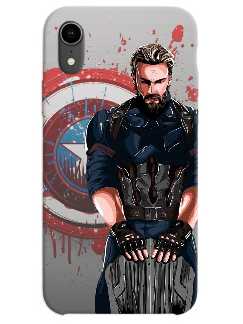 Captain America The First Avenger iPhone XR Case