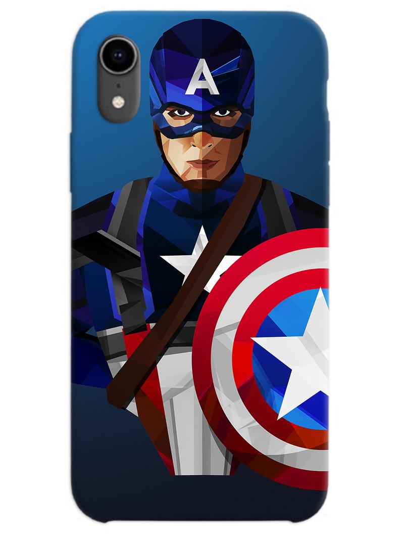 Captain America iPhone XR Case