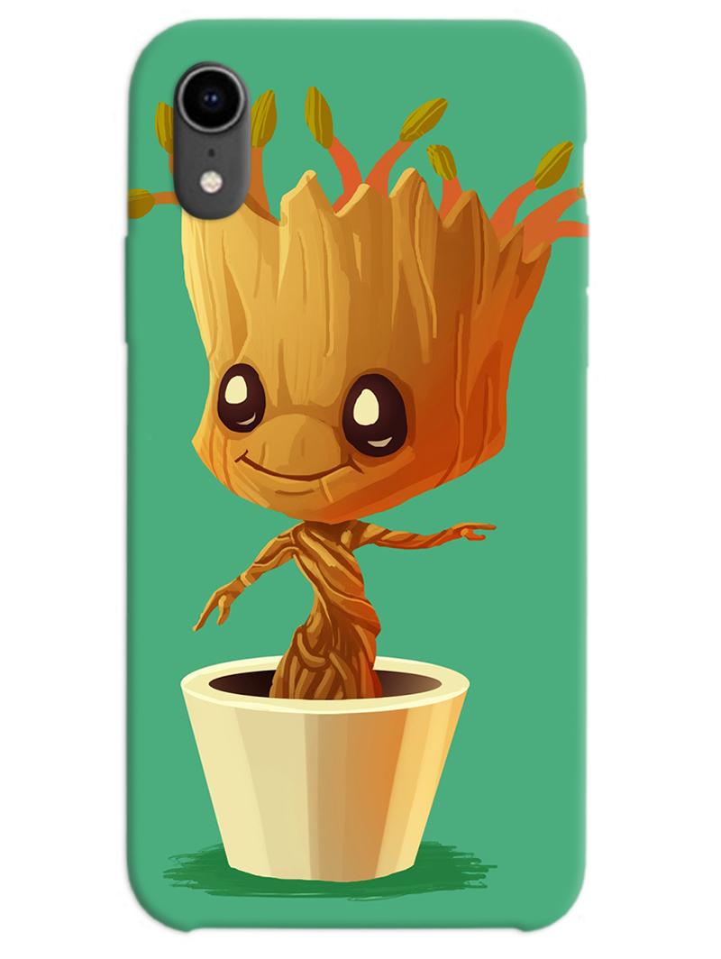 Baby Groot iPhone XR Case