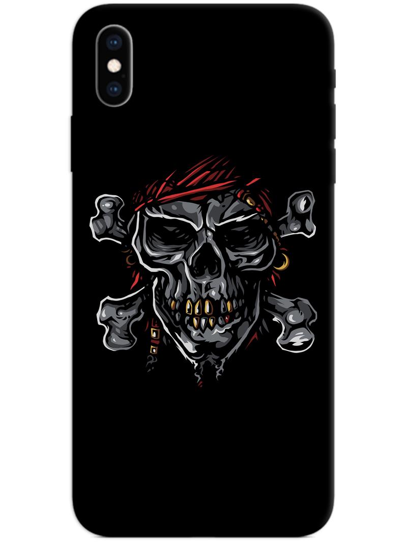 Black Skull iPhone XS Max Case