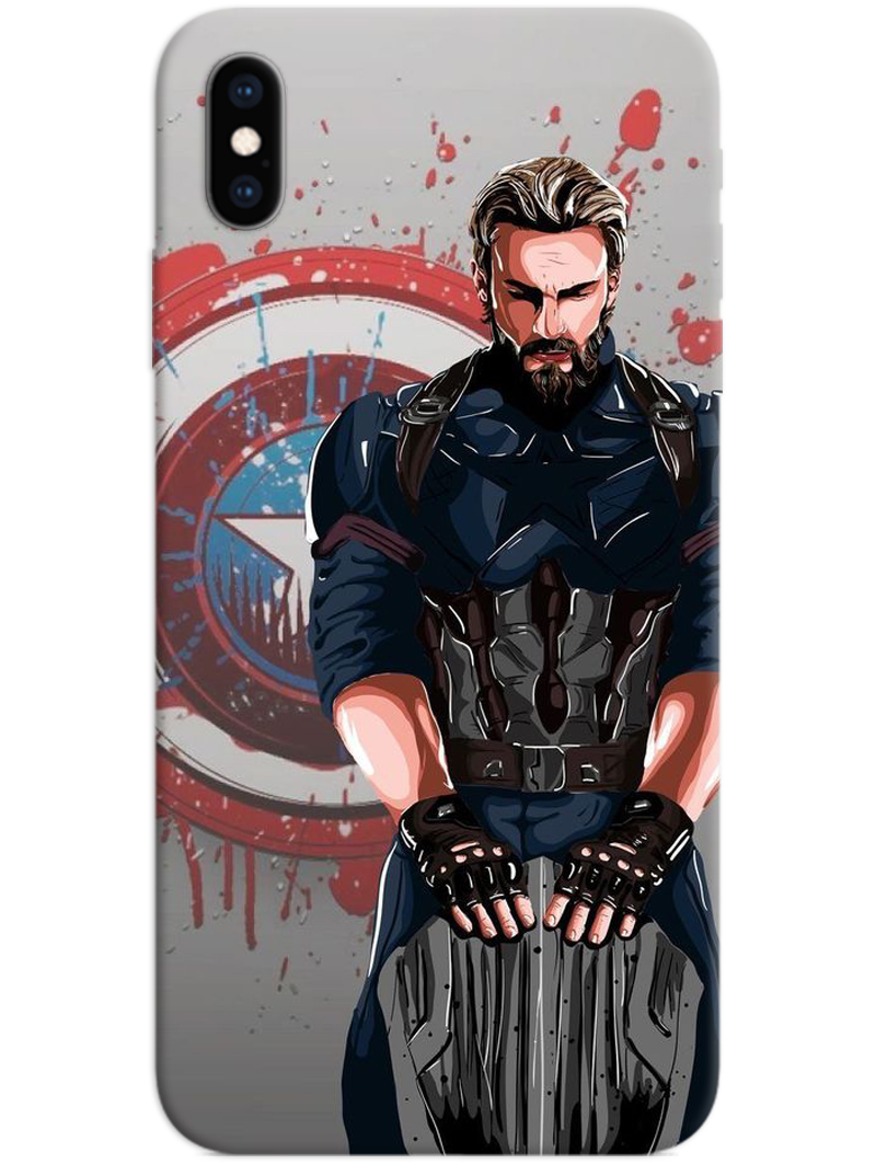 Captain America The First Avenger iPhone XS Max Case