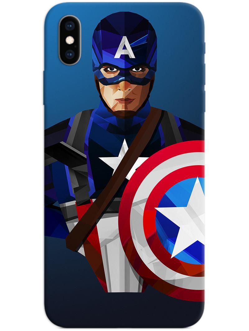 Captain America iPhone XS Max Case