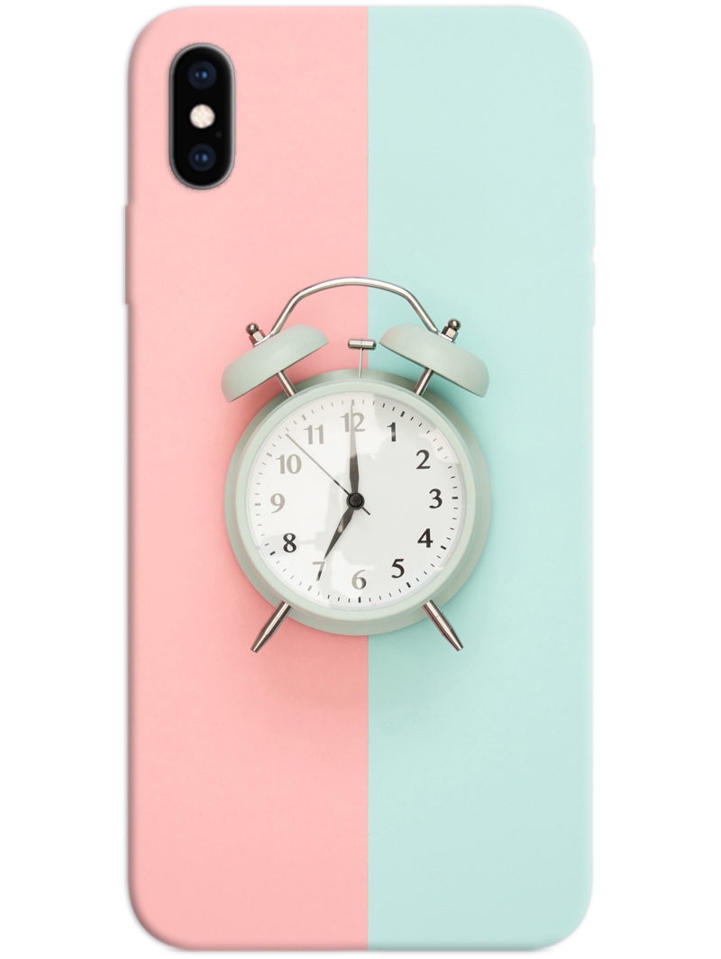 Alarm Clock iPhone X / XS Case