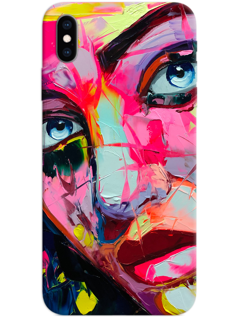 Colourful Girl iPhone X / XS Case