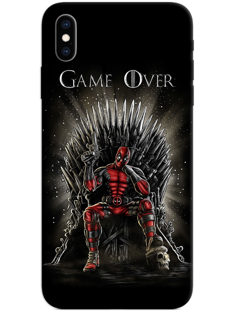 Deadpool Game Over iPhone X / XS Case