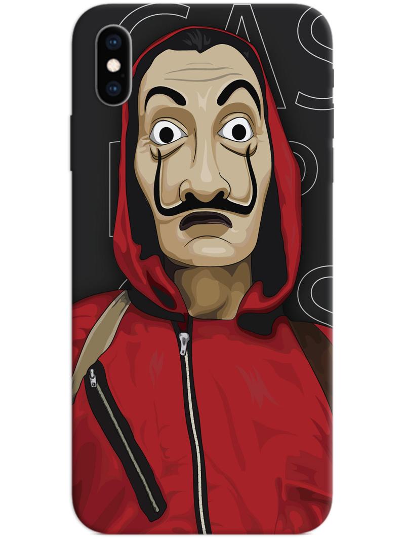 Money Heist Mask iPhone X / XS Case