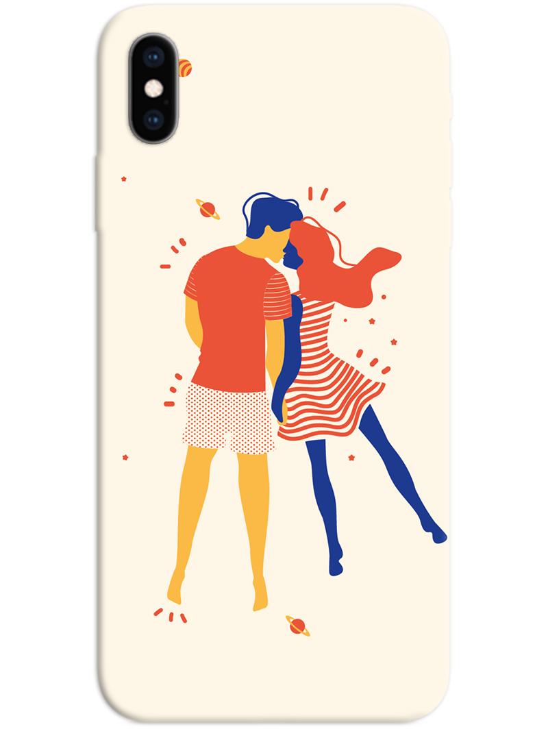 Romantic Couple iPhone X / XS Case