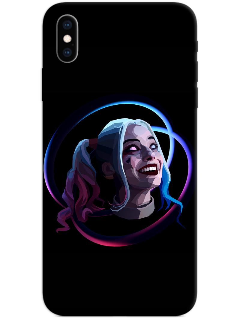 Harley Quinn Face iPhone X / XS Case