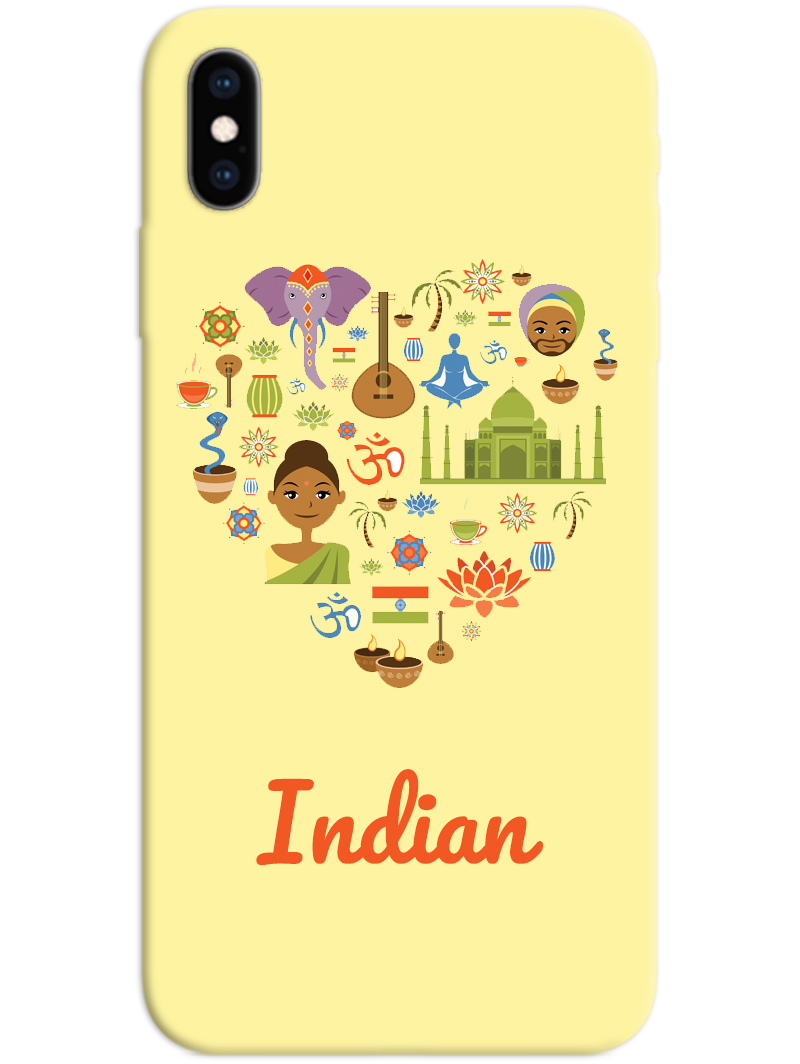 Indian iPhone X / XS Case