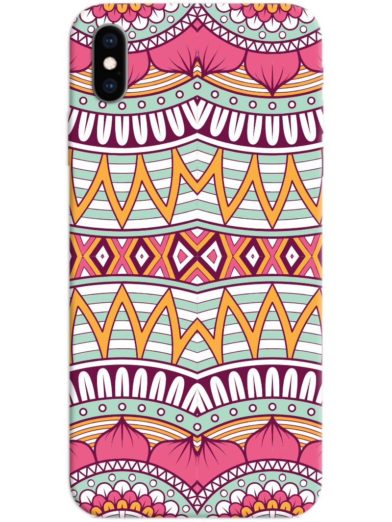 Mandala Pattern 2 iPhone X / XS Case