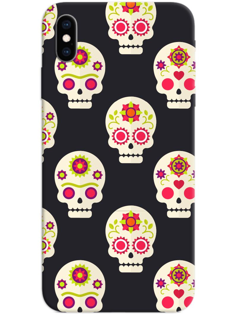 Skull Pattern iPhone X / XS Case