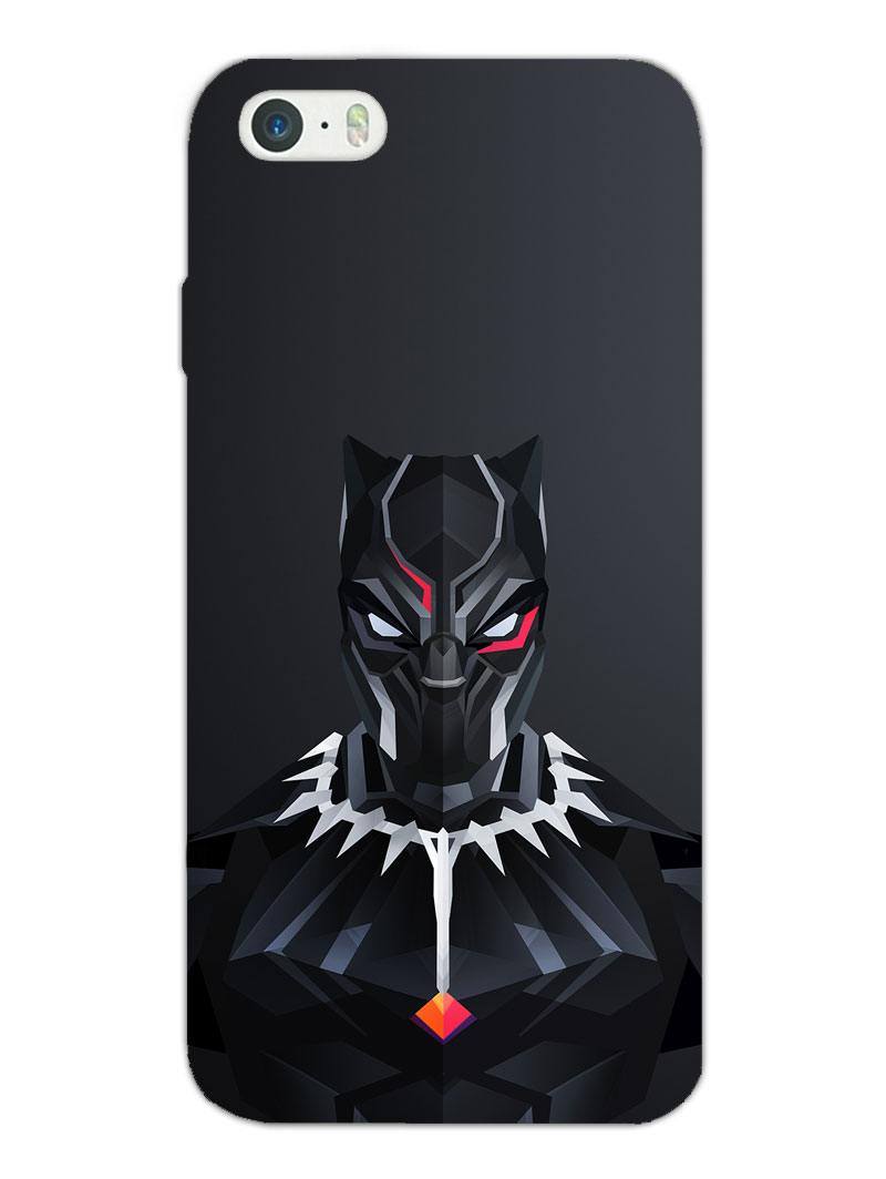 Black Panther Apple iPhone 5/5S/SE Case