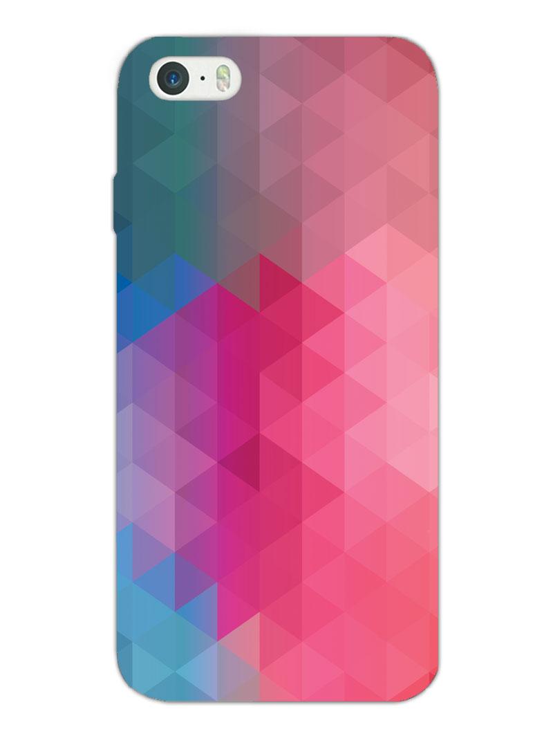 Blurry Apple iPhone 5/5S/SE Case