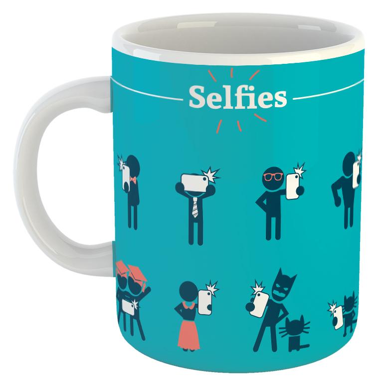 Selfies Mug